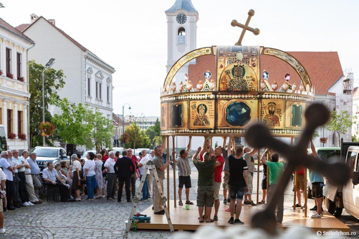 Értékmegőrző kiállítások az István, a király Székelyföldi Nagyprodukció helyszínén